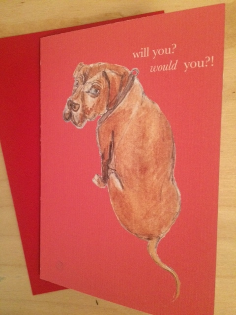 Greeting Cards by Sal Ashmore - Valentine Frank