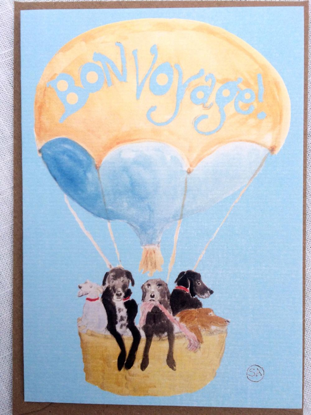 Greeting Cards by Sal Ashmore - Bon Voyage