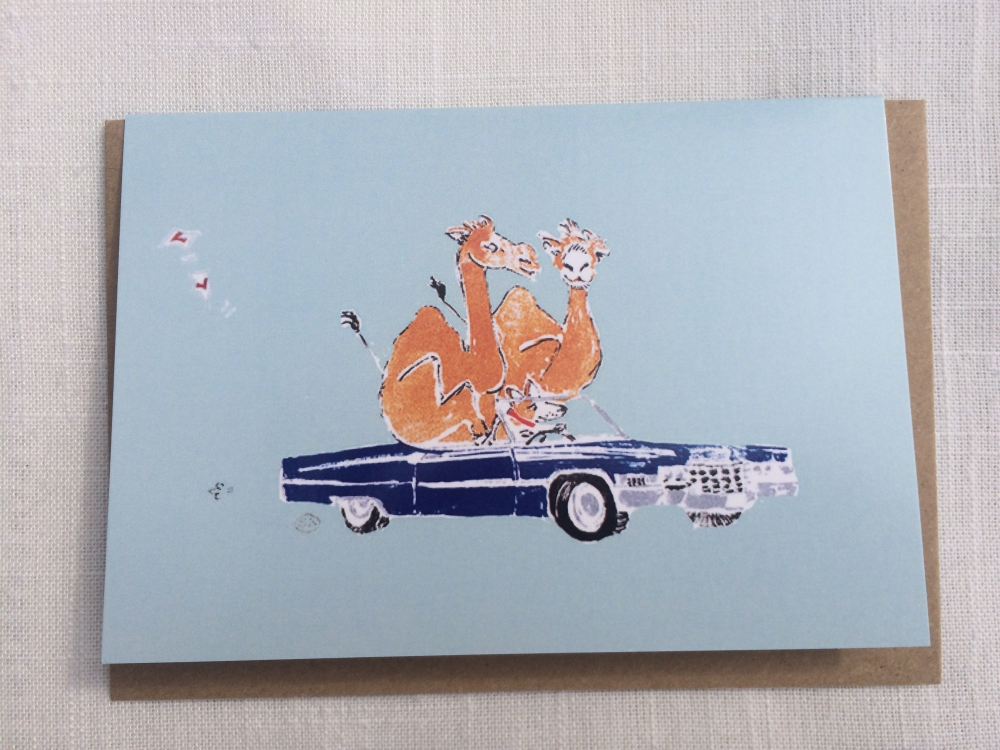 Greeting cards miscellaneous cards on the road personalised greeting cards m4hsunfo