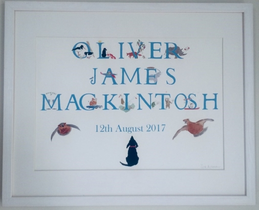 Personalised Special  Occasion Prints by Sal Ashmore