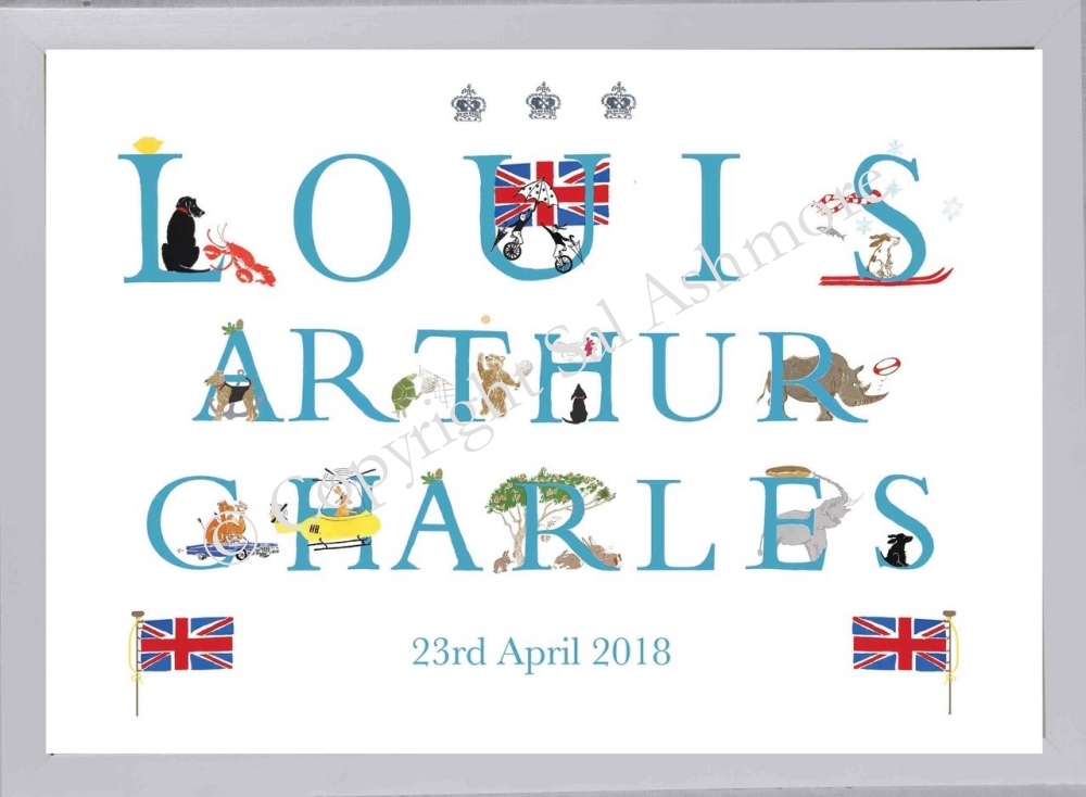 Prince Louis Special Occasion Print