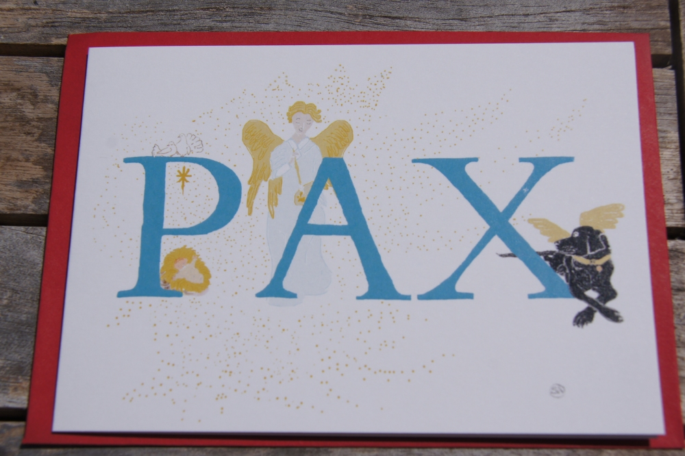 Greeting Cards > Christmas Cards - PAX - Personalised Illustrated ...