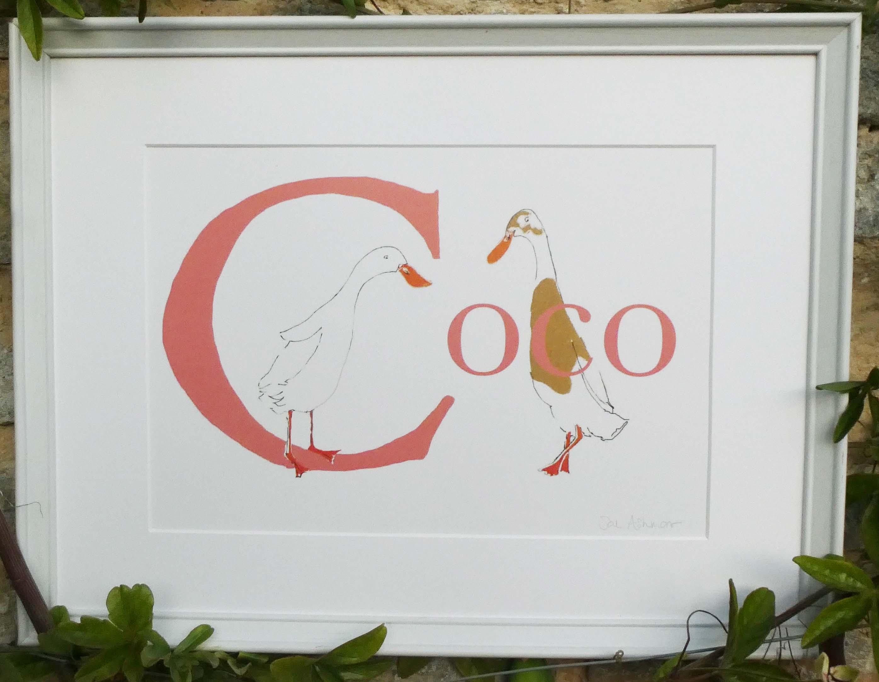 Coco name print