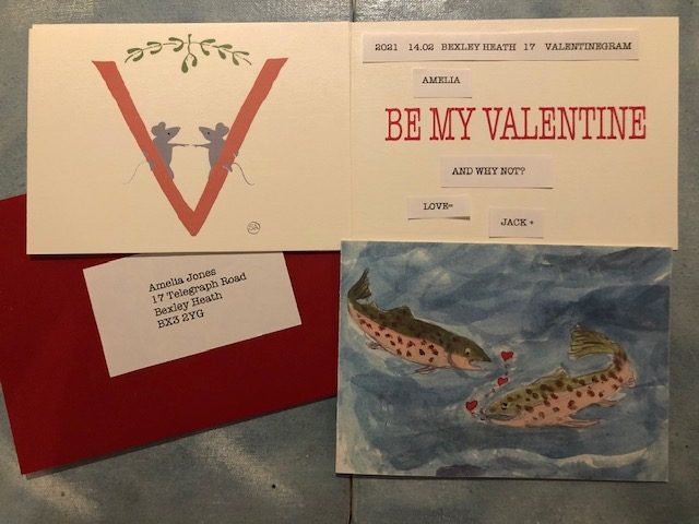 personalised valentinegram
